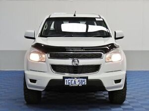 2012 Holden Colorado RG LX (4x4) White 6 Speed Automatic Crew C/Chas Jandakot Cockburn Area Preview