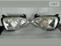 Pre facelift Corsa headlights