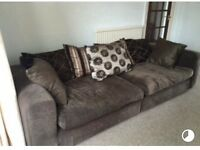 Large Brown Sofa - Amazing price - must go !!