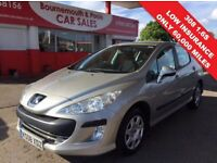 PEUGEOT 308 1.6 S 5d 118 BHP ONLY 60,000 MILES, READY TO GO (grey) 2008