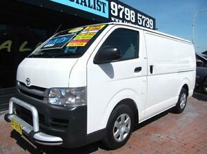 2008 Toyota Hiace TRH201R MY07 Upgrade LWB White 4 Speed Automatic Van Croydon Burwood Area Preview