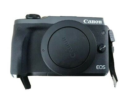 Canon EOS M6 24.2MP Digital Camera - Black (Kit w/ EF-M 15-45mm Lens) (Latest...