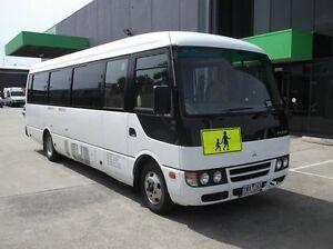 2008 Mitsubishi Fuso Rosa BE64D Deluxe White Bus 4.9l RWD Preston Darebin Area Preview