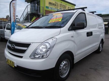 2011 Hyundai iLOAD TQ MY11 White 5 Speed Automatic Van Homebush Strathfield Area Preview