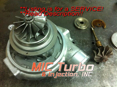 Neon SRT-4 / PT Cruiser Mopar Stage 3 Turbocharger Repair Service 15GK2 Turbo