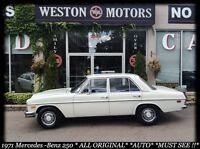 1971 Mercedes-Benz C250 ALL ORIGINAL*AUTO*FINANCE HERE!