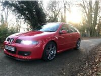Seat Leon Cupra R 225 *LOW MILES* *LONG MOT* *FSH* *IMMACULATE* *A1 EXAMPLE*