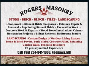 Rogers Masonry, Tile & Landscaping