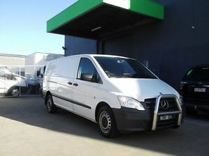 2012 Mercedes-Benz Vito MY11 116CDI LWB White 5 Speed Automatic Van Preston Darebin Area Preview