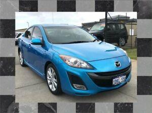 2010 Mazda 3 BL SP25 Blue 5 SP AUTOMATIC Sedan