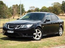 2009 Saab 9-3 MY08 Linear 1.9TiD Black 6 Speed Manual Sedan Preston Darebin Area Preview