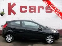 £30 PER WEEK NO DEPOSIT* 2010 FORD FIESTA 1.2 EDGE FULL DEALER SERVICE HISTORY LOW MILES