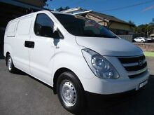 2008 Hyundai iLOAD TQ White 5 Speed Manual Van Homebush Strathfield Area Preview
