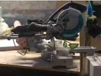Makita Mitre Drop Saw all Working Except the Blade Guard needs Fixing Can Deliver