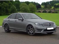 Mercedes-Benz C250 Class CDI BlueEFFICIENCY 37249 Miles 7G-Tronic
