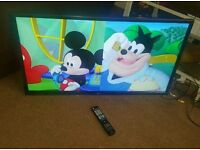 Lg 42 inch slim line led Internet tv new condition fully working with remote control