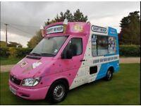 Ice cream van for sale £20000