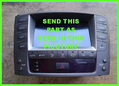 LEXUS TOYOTA IS250 IS350 ISF TOUCH SCREEN REPAIR