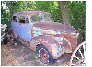 Classic 1939 Chevy Master Deluxe