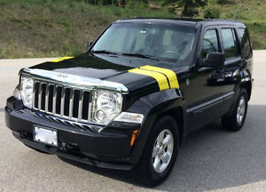 2012 Jeep Liberty Sport, 4x4 - now in Kelowna