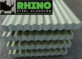 Steel/Metal/Tin Corrugated Roofing Sheets with Polyester or PVC Coated Finish (various colours)