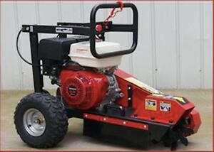 STUMP GRINDER HONDA GX390 ROOT TREE TRUNK CUTTER BRAND NEW + 1 YEAR WARRANTY + FREE SHIPPING ANYWHERE IN NEW BRUNSWICK !