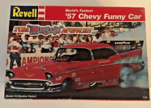 Collectible Vintage Revell Chevy Funny Car Model