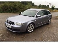 Audi sport avant.2004,Full leather,Just been serviced.Drives lovely