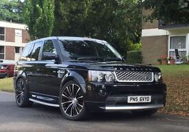 **EXCLUSIVE EDITION**Land Rover Sport Range Rover AUTOBIOGRAPHY