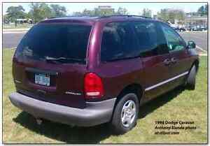 WANTED 98 CARAVAN TRUNK LID, BODY KIT STUF AND SIDE VIEW MIRRORS