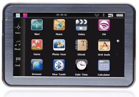 Tom Tom Sat Nav GPRS Navigation With Music & Video & Memory Card In Box Pack