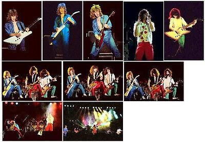 10 Def Leppard colour concert photos - Reading 1980
