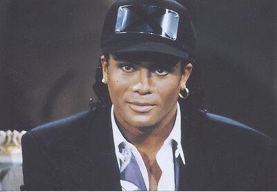 Foto Sänger Robert ROB PILATUS - Pressefoto - Aufnahme von 1991 - Milli Vanilli