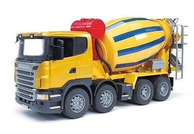 Scania R-Serie Betonmisch-LKW Betonmischer Betonauto NEU von Bruder