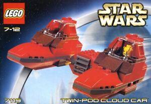 LEGO Star Wars 7119 Cloud 7139 Ewok 7201 FinalDuel [Vintage2002]