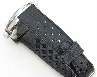 NOS 19mm Tropic strap type for vintage divers watch EBAY's best price 89 sold