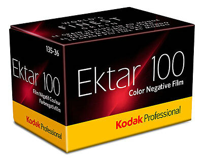 1 Roll Kodak Ektar 100 Color Negative 35mm Print Film 36exp. Fresh Dated