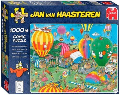 Jumbo Jan Van Haasteren 1000 Piece Jigsaw Puzzle Hooray Miffy 65 Years