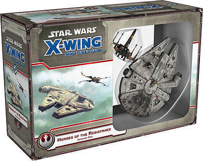 Star Wars X-Wing Miniatures Heroes of the Resistance Fantasy Flight FFG