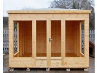10ft x 8ft Summer House