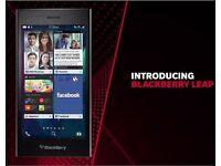 Blackberry Leap STR100-1 16GB 5-inch 4G LTE Mobile phone -Black- Vodafone