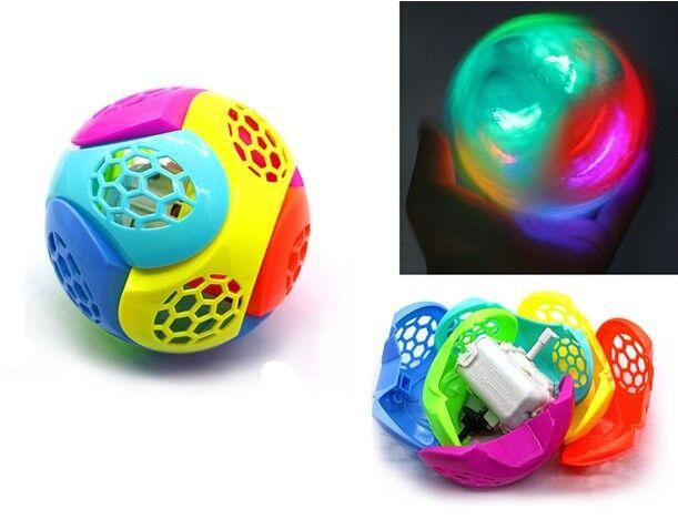 Puzzle Jump Ball Palla Con Luci E Suoni Che Salta Gioco Giocattolo Bambini Linq