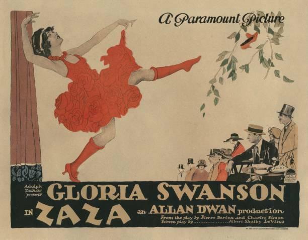 OLD MOVIE PHOTO Zaza Lobby Card Gloria Swanson 1923