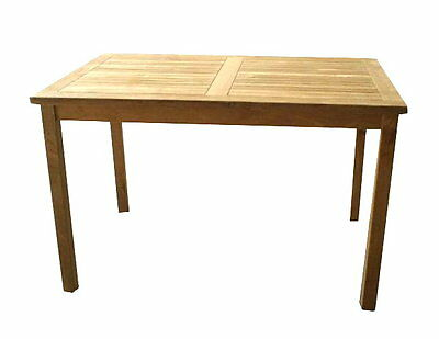 Echt Teak Tisch Gartentisch Teaktisch  120 x 80 x 75  cm T16