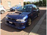 Subaru Impreza Turbo uk. 260 BHP Tax & Mot FSH May PX or Swap