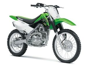 2018 Motos Kawasaki Enduro Kawasaki Enduro KLX 140 L Big Wheel