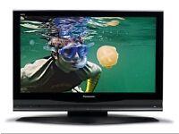 "Panasonic 42"" widescreen Plasma TV with stand"