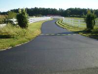 Driveway sealing and asphalt repair.