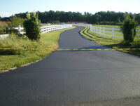 Driveway sealing and asphalt maintenance