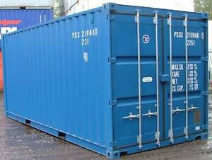Wanted 20ft Shipping Container Bundall Gold Coast City Preview